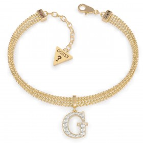 GUESS Náramok G MULTI CHAIN GOLD UBB79085-S - GUESS Náramok UBB79085-S